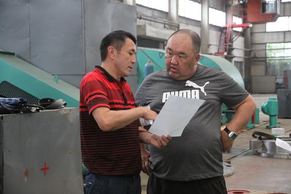 Foreign businessmen visiting Kazakhstan