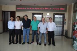 Argentina customer acceptance 40 drilling rig